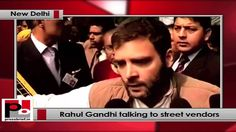 "Congress Vice President Sh. Rahul Gandhi met with street vendors in the capital. While talking to media he showed his happiness regarding the protection of street and vendor act which was passed in the parliament yesterday. ""I want to congratulate them because their bill has been passed in parliament. I have already said in AICC speech that those 70 crores people have run this country."