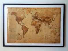 Map with all the places we have been to.