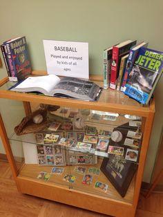 Library Baseball Display