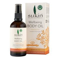 Sukin Wellbeing Body Oil 100.0 ml, $19.99