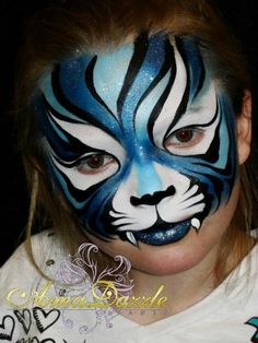 a very graphic Tiger...I love it.
