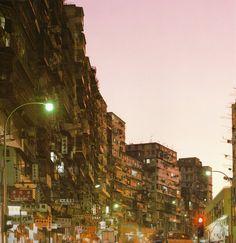 Kowloon Walled City, Hong Kong, China (demolished in 1993) - Hyperbolia
