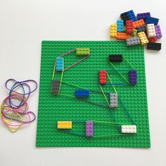 Lego - kicsit másképp!😉 Remekül fejleszti a finommotorikát. Próbáljátok ki Ti is!😊 #gyereketető #ötlet #játék #fejlesztés #fejlesztőjáték #finommotorika #lego #gyerek #anyavagyok #gyerekkelvagyok Cicely Mary Barker, Homeschool Math, Poker Table, Lego, Triangle, Games, Creative, Construction, Instagram