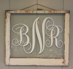 Monogram Vintage Window Personalized For von VaughnCustomCreation, $55.00 MONOGRAM, bedroom, wedding, anniversary, PERSONALIZED FOR YOU. Different Colors available.