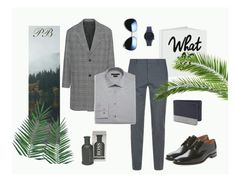 """Mr.P"" by polluxcat on Polyvore featuring Nika, Loake, Komono, Billabong, HUGO, Burberry, ZeroUV, AMI, John Varvatos * U.S.A. and men's fashion"