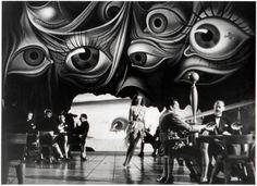 Salvador Dali movie set design