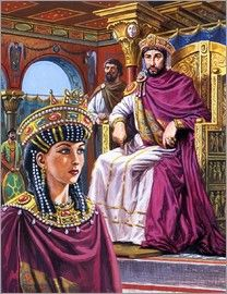 Justinian and his wife Theodora