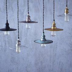 fowey pendant light by rowen & wren | notonthehighstreet.com