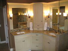 Bathroom Corner Vanity Unit DecorIdeasBathroom