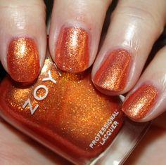 Zoya Tanzy. Super Citrus nail polish. http://www.zoya.com