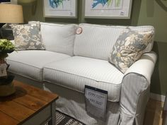 Four Seasons 2 Seat Slipcover Sofa