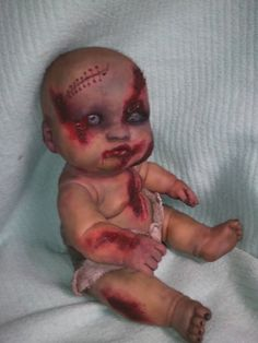 Zombie Doll craft idea for Halloween