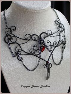 Gothic inspired necklace