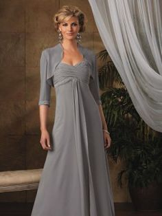 Perfect A-line Sweetheart Chiffon Plus Size Mother Of The Bride Dresses Online Shopping