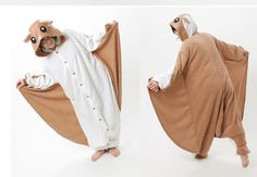 How cool are these are these animal onesies? :)Rat Adult Onesie Pajamas