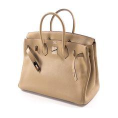 5187606de0 Shop authentic Hermès Birkin 35 Tabac Clemence at revogue for just USD  8