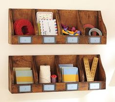 cute for organizing supplies or a mail corner for sending letters to cousins