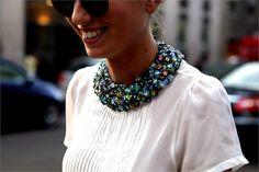 hi!onfashion: Embellished Collars