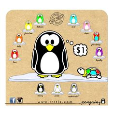Trrtlz Penguins Braceletsfriendship Braceletsbracelets With Meaning
