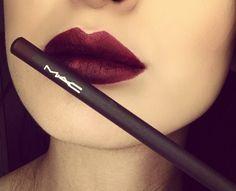 mac vino lip pencil # so pretty can't wait for fall