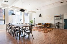 Rent meeting space at 715 Boylston Street, Floor daily or hourly with Breather. Book office space in Back Bay East. 2nd Floor, Corporate Events, Flooring, Space, Interior Design, Table, Boston, Inspiration, Furniture