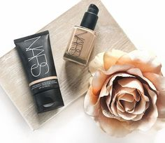 I just love using these two @narsissist products! I would say they are my most favourite base formulas to use  I love the way they make my skin look and because of my yellowy olive undertone their shades suit my skin perfectly! Something that I find quite hard with other brands products Also...I may have put in a few little hints here and there that I wouldnt be too upset if I received the new Natural Radiant foundation for Mothers Day! What do you guys think of Nars? . . . . . . . . #nars…