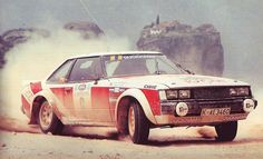 Ove Andersson with Toyota Celica RA40 GT2000 Coupe