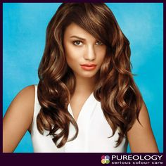 "Sharing Pureology Serious Colour Care""s Photo. #Long ? #Check ! #Strong ? #Check ! #Glam ? #CheckCheck  !! #Thanks    to Pureology's Strength Cure system, letting your hair down has #NeverLookedSoGood"