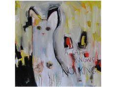 Acrylic on canvas GATO by ICI ET LÀ design The Catman
