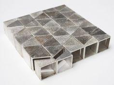 Dinie Besems, rings in silver