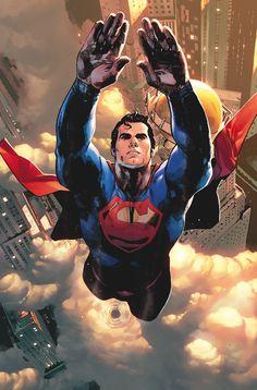 Action Comics - Superman: The Man of Steel flies over The Daily Planet Batman Vs Superman, Mundo Superman, Superman Action Comics, Superman Artwork, Superman Man Of Steel, Superman Wallpaper, Superman Family, Marvel Dc Comics, Hq Marvel