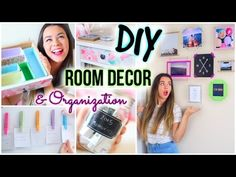 DIY Room Decor & Organization For 2015! - YouTube