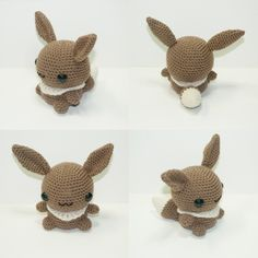 #133 Eevee, the Evolution Pokémon. Nowavailable in theshopand isReady To Ship! www.etsy.com/listing/185030938…