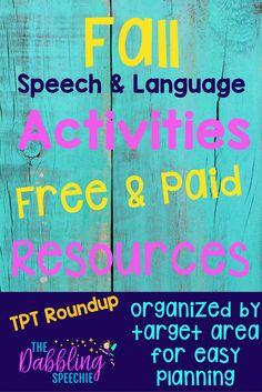 Fall speech and lang