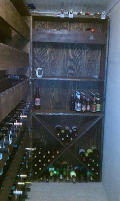 DIY wine cellar