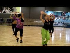 """ZUMBA WITH MELISSA.  """"OYE BY MARA"""" -this is the choreo we use for this song, love it ;)"""
