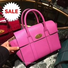 Mulberry Small Baywater Bag in Pink RM3,950 was RM4,930