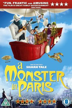 A Monster in Paris movie poster Fantastic Movie posters movie posters movie posters movie posters movie posters movie posters movie Posters Kid Movies, Netflix Movies, Movie Tv, Disney Films, Disney Cartoons, Old Tv Shows, Movies And Tv Shows, Top 10 Halloween Movies, Shark Tale