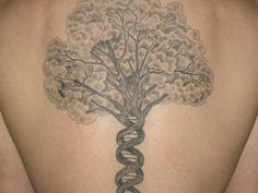 Helix / Tree of life tattoo #science