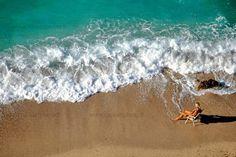 Plage de Villefranche sur mer dans les Alpes-Maritimes #beach #plage #Frenchriviera #Cotedazur #sea
