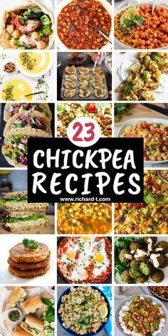 23 Easy and healthy chickpea recipes you need to make! #chickpeafoodrecipes #chickpearecipes Chickpea Recipes, Vegetarian Recipes, Honey Roasted Chickpeas, Vegetarian Lifestyle, Vegan Kitchen, Easy Food To Make, Easy Healthy Recipes, Food Inspiration, Diets