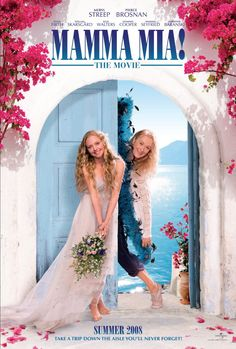 Mamma Mia! , starring Meryl Streep, Pierce Brosnan, Amanda Seyfried, Stellan Skarsgård. The story of a bride-to-be trying to find her real father told using hit songs by the popular '70s group ABBA. #Comedy #Musical #Romance