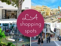 Los Angeles Shopping Districts