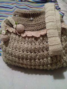 bolso de crochet