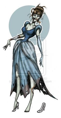 Zombie_Cinderella_by_LaTaupinette