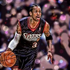 Allen Iverson - Proof that there's no size limit on talent