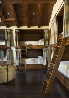 "coolest cabin ""bunk room"" I have ever seen"