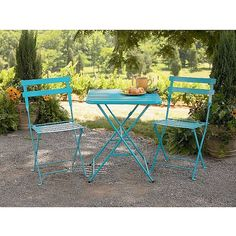 Would Love This French Bistro Set For Our Front Patio Garden Oasis