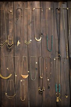 Local find! Jewelry from the collection of Marisa Haskell as seen in her Temescal Alley store.