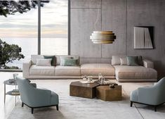 [New] The 10 Best Home Decor (with Pictures) - Casamilano is renowned Italian company specialized in the production of high-quality design furniture and accessories like this sofa. Decor Interior Design, Furniture Design, Interior Decorating, Living Room Sofa, Home Living Room, Modular Sectional Sofa, Milan Furniture, Low Tables, Fabric Sofa